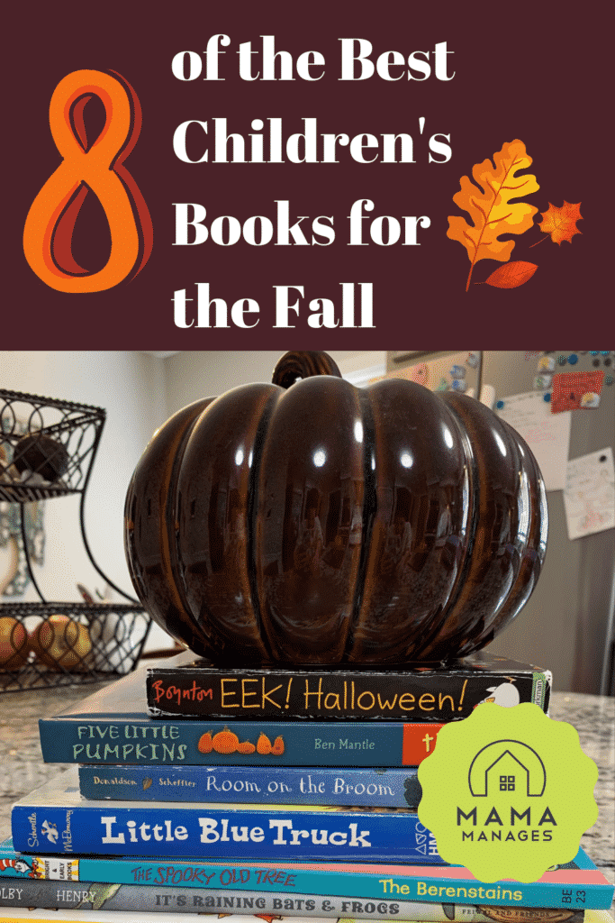 8 of the best childrens books for the fall