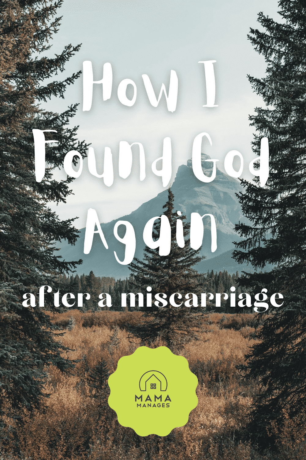 How I Found God Again After a Miscarriage