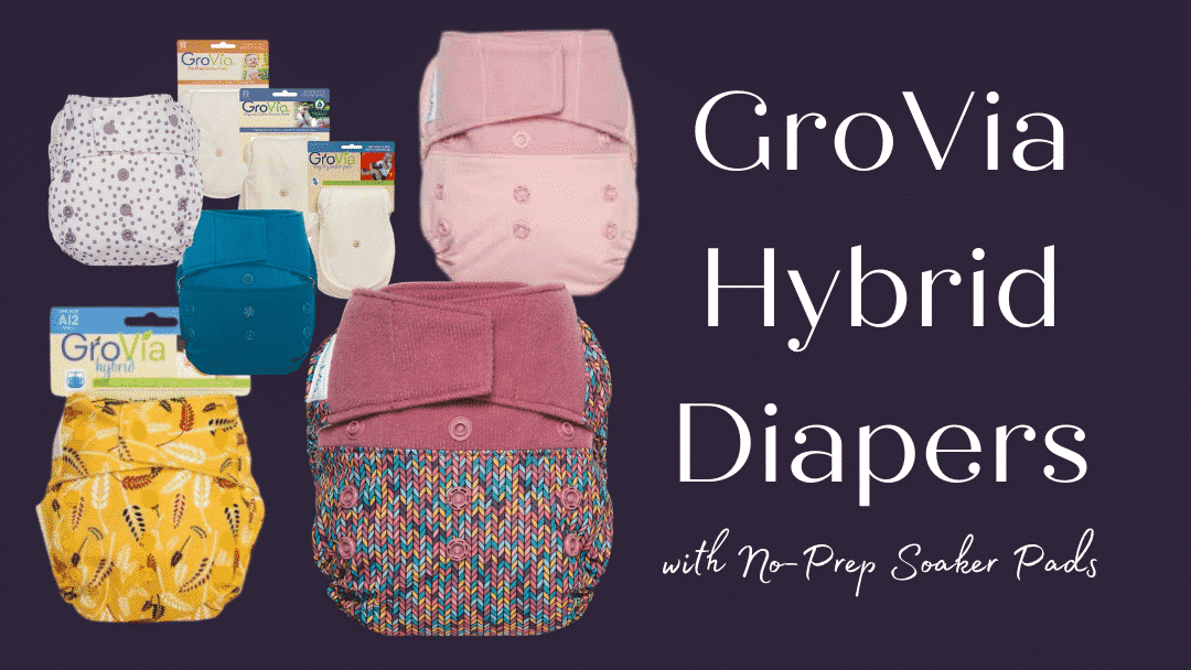 GroVia Hybrid Diapers best diapers for working moms