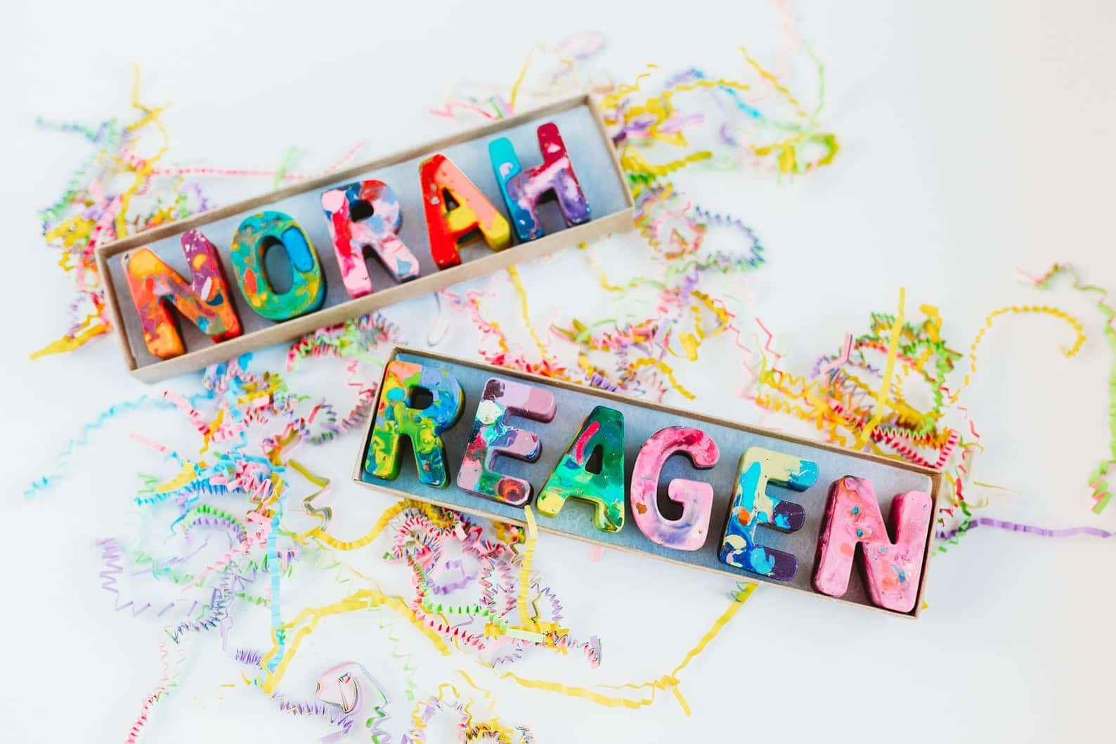 name crayons personalized for little kids - etsy shops for christmas gifting
