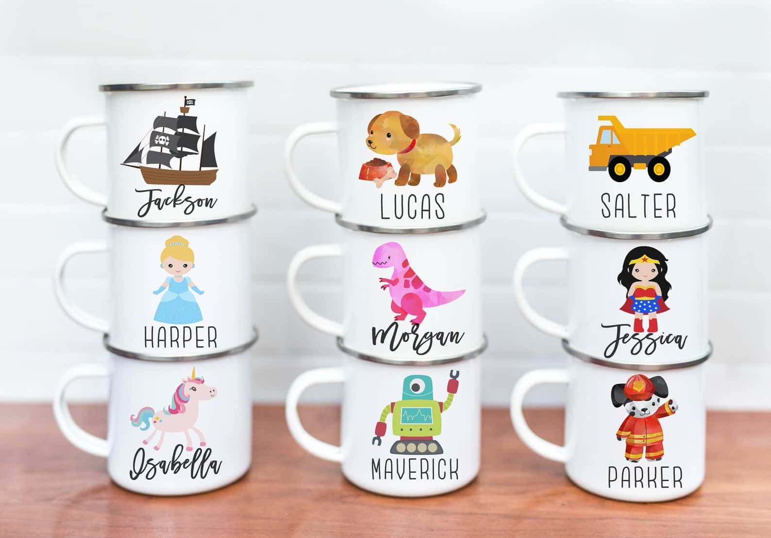 kids cups personalized