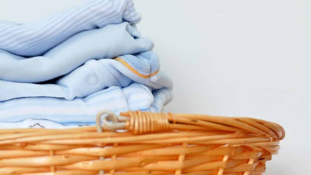 doing baby laundry is one way to support a new mom
