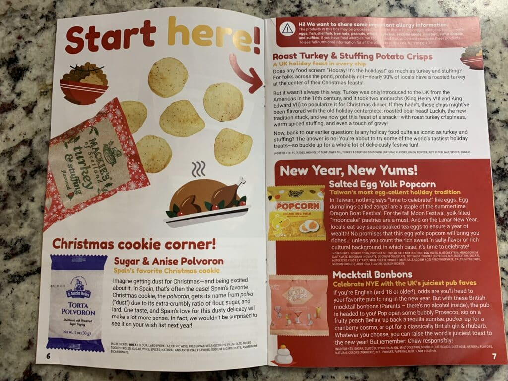 magazine universal yums review