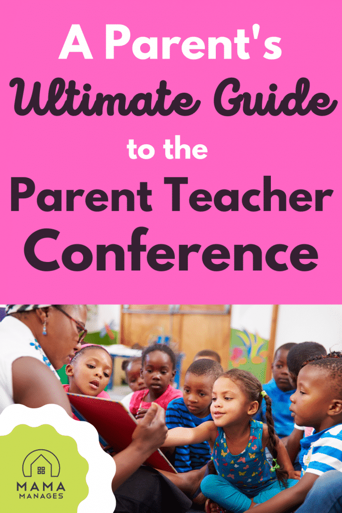 Pin for the Parent's Ultimate Guide to the Parent Teacher Conference