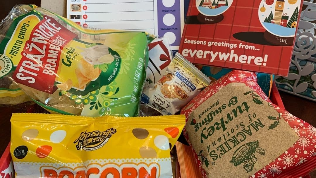 Universal Yums snack box for spring break treats
