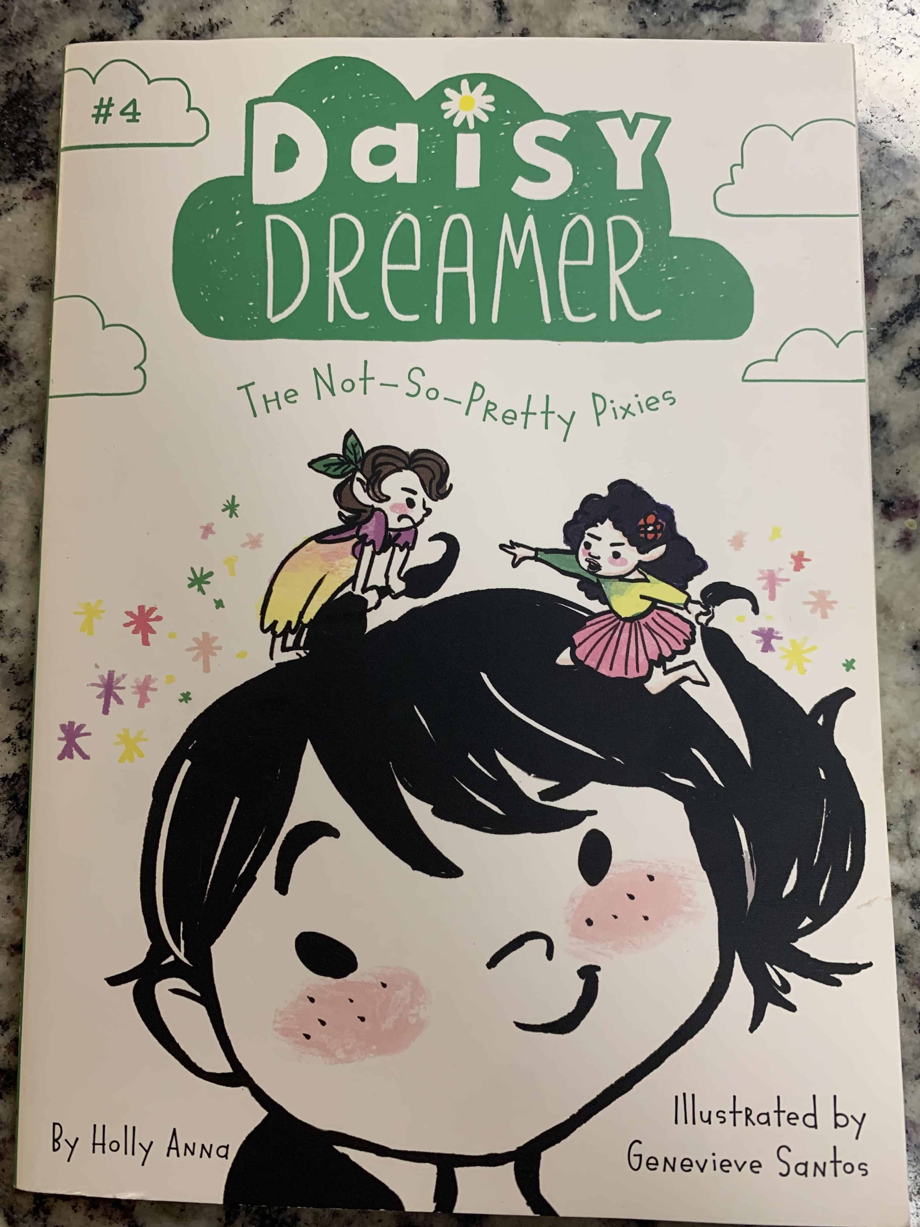 Daisy Dreamer Cover - Perfect for advanced second grade chapter book