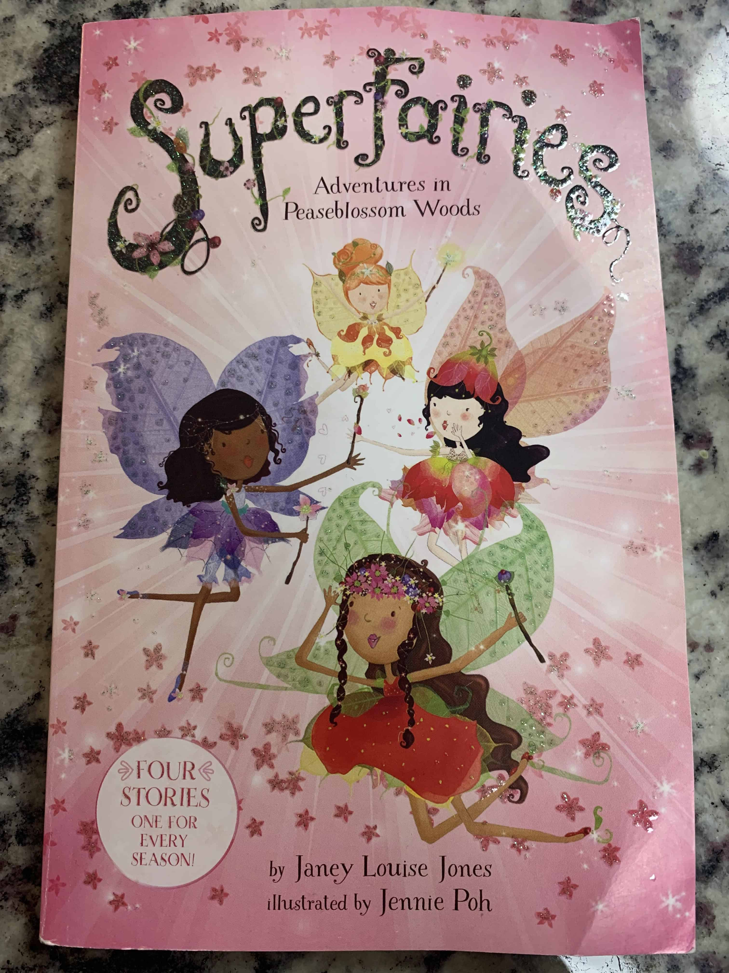 Superfairies Cover - Chapter Books for 2nd Grade Girls