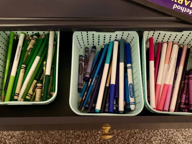 A Smart, Simple Crayon Storage System that Won't Frustrate Kids