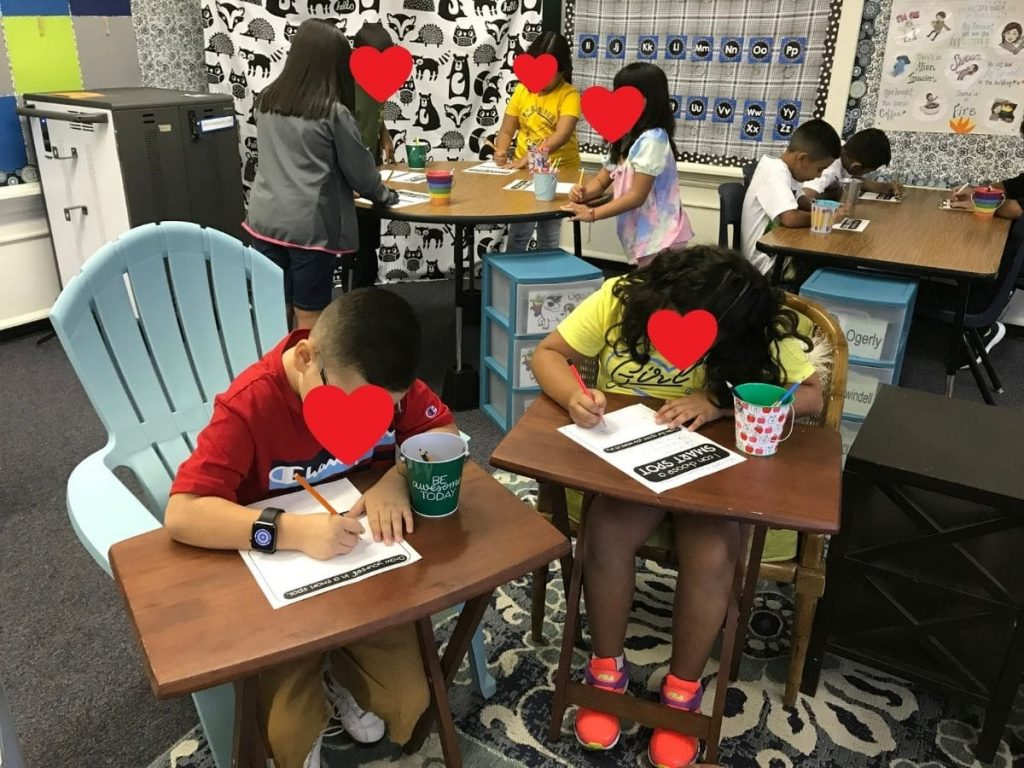 flexible seating classroom management options