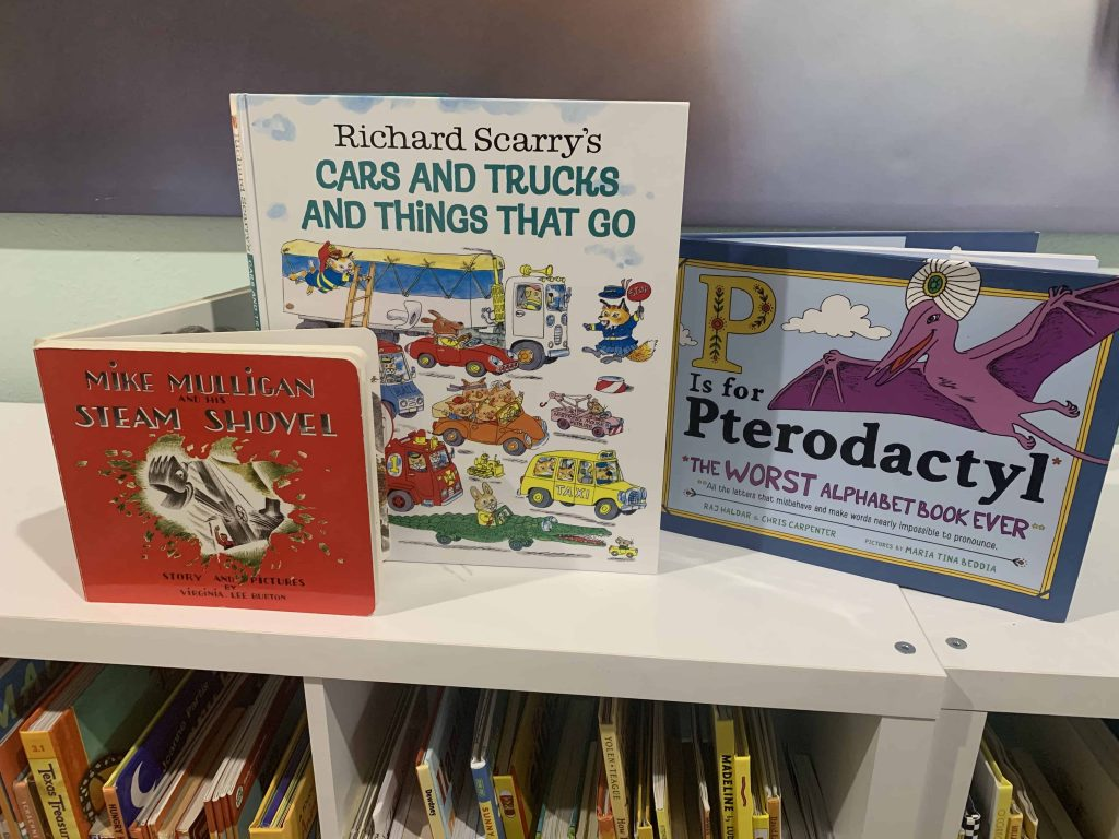 kids home library additions