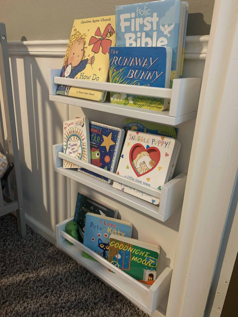 toddler home library