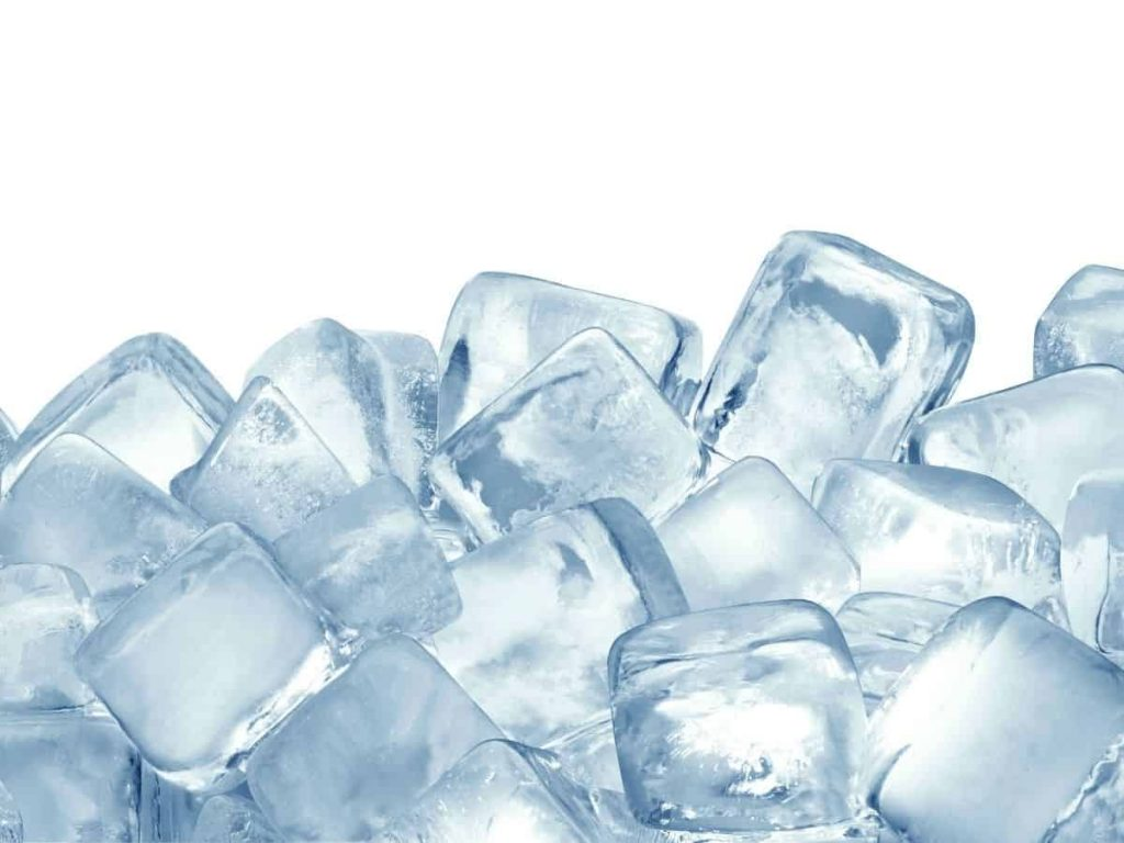 picture of ice to use for an object lesson - how to teach the trinity to a child