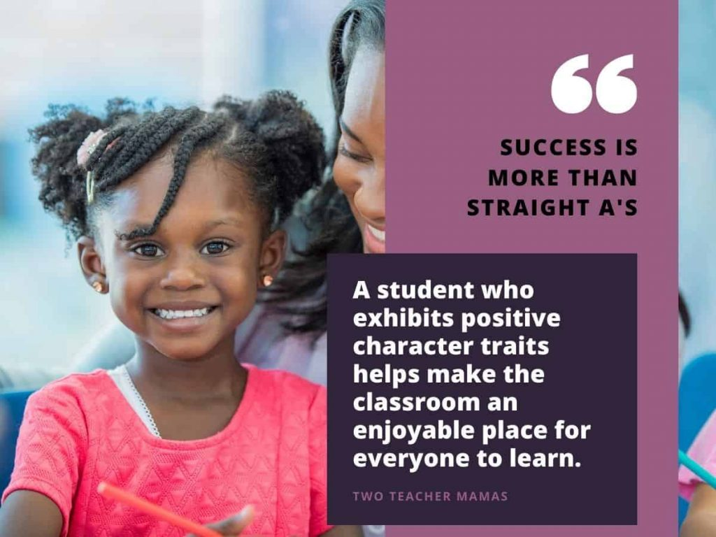 smiling little girl - help your child succeed in school with quote from two teacher mamas