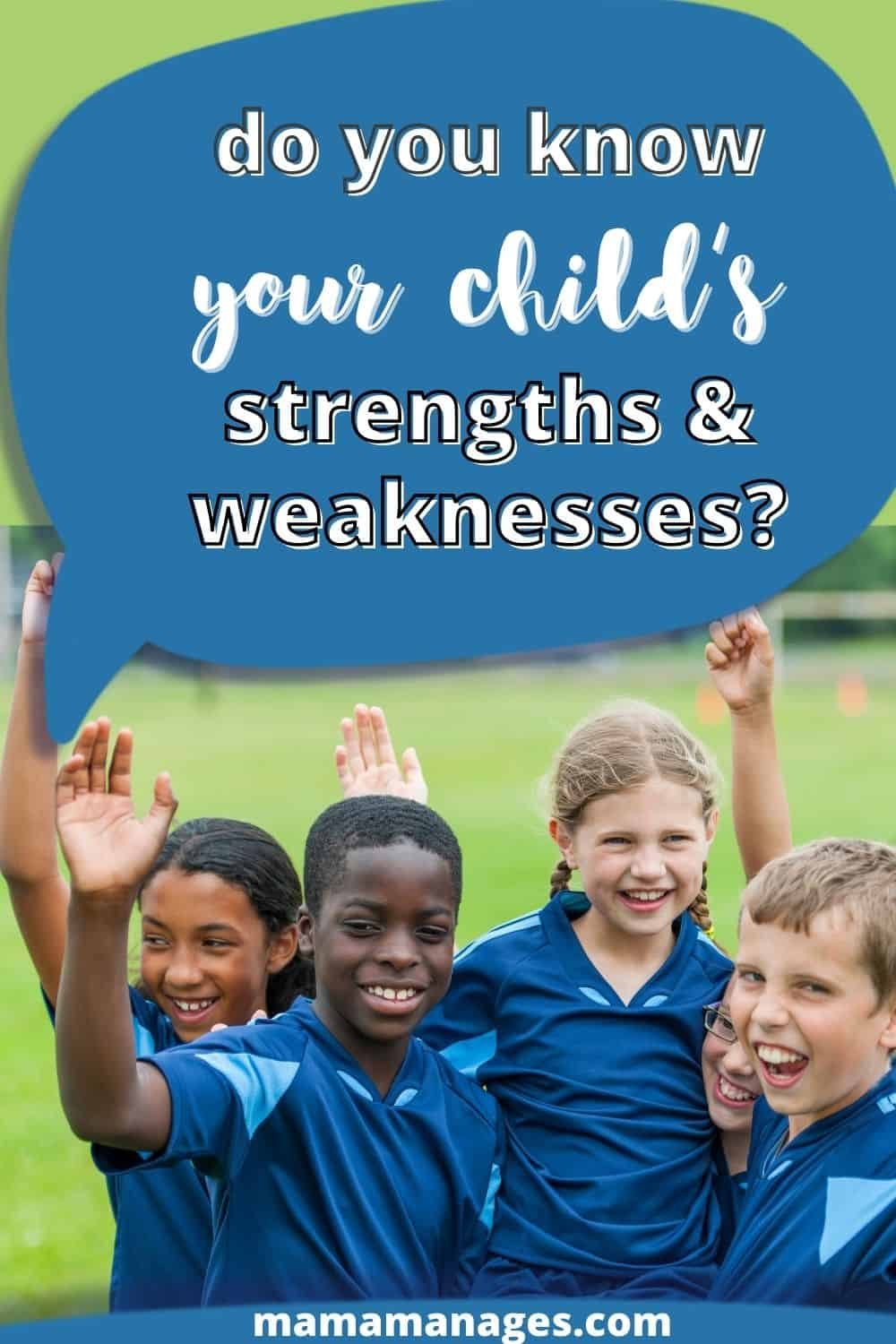 child's strengths pin