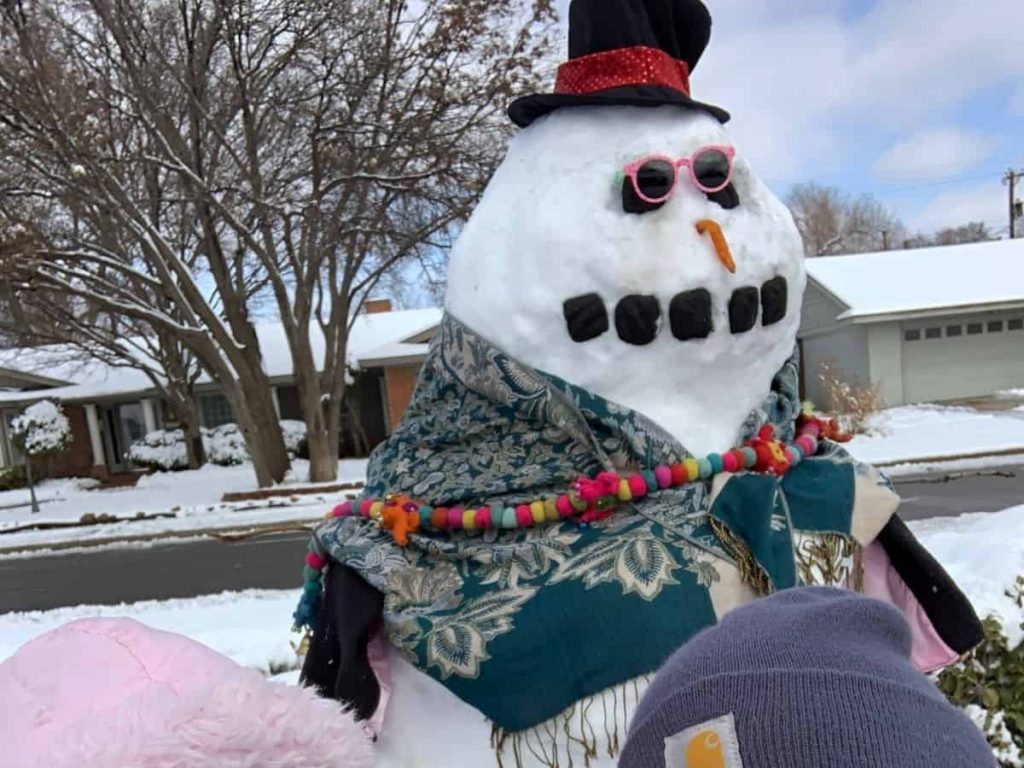 Christmas Activities for Families - Snowman