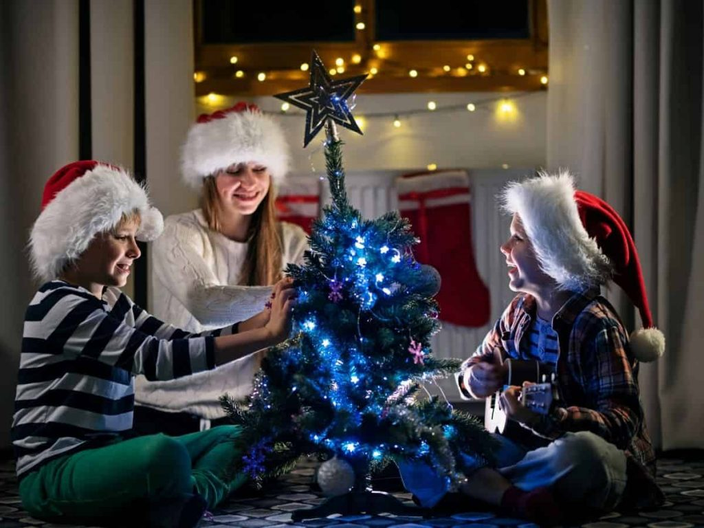 Christmas Activities for Families - Decorate Kids Tree